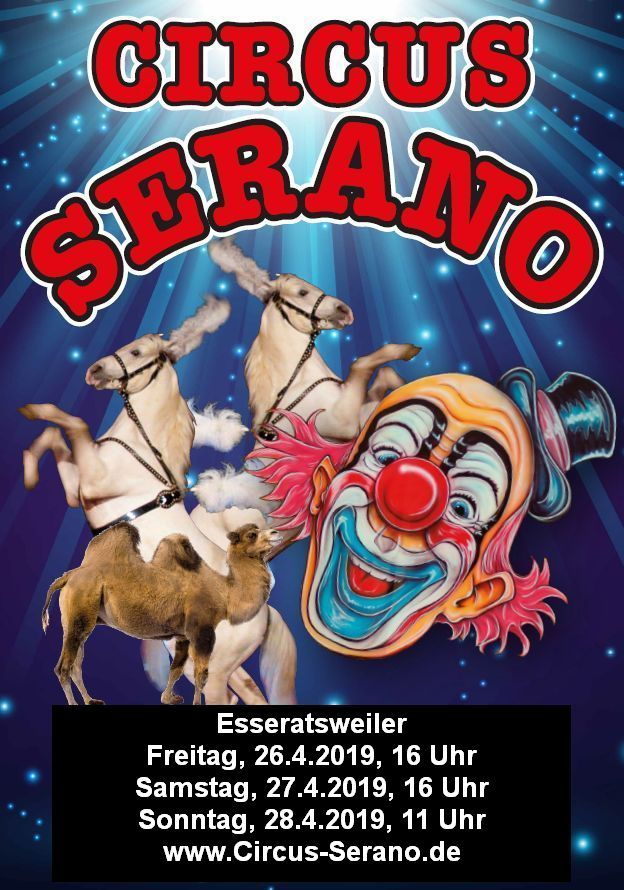 Circus Serano in Esseratsweiler